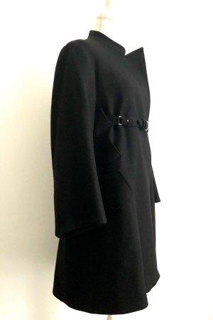 Jil Sander Cappotto in lana nero