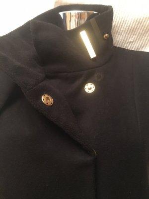 Mango Fleece jas zwart