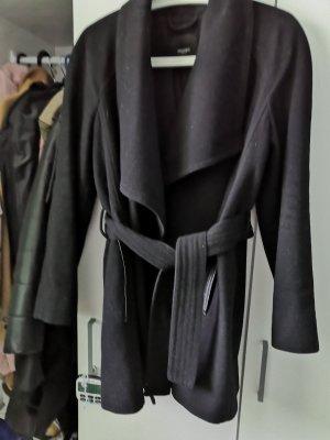 Mango Cappotto in lana nero