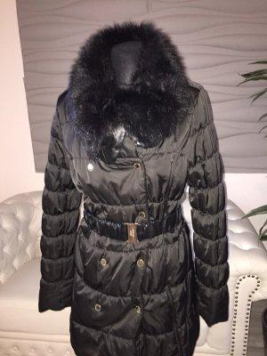Morgan Quilted Coat black