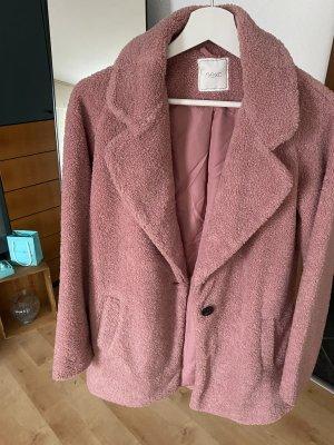 Next Abrigo de lana rosa