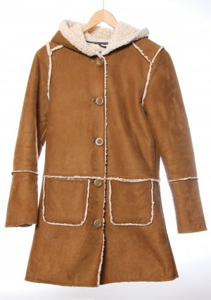 Only Hooded Coat camel