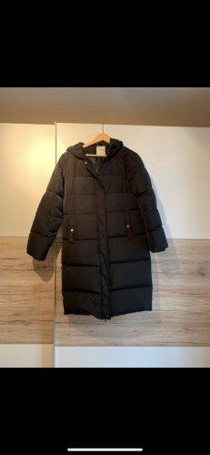 Pieces Gewatteerde jas zwart
