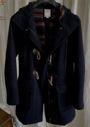 s.Oliver Abrigo de lana azul oscuro