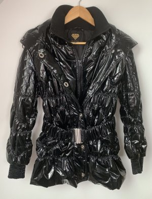 Sarah Kern Manteau matelassé noir polyester