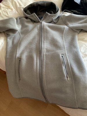 Tom Tailor Manteau à capuche gris coton