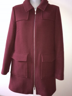 Wool Coat bordeaux