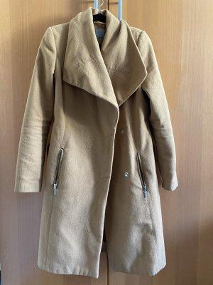 Vero Moda Marynarski płaszcz brąz-piaskowy brąz