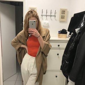 Viventy Cappotto in pile beige-color cammello