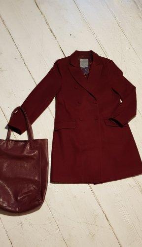 Mantel von Zabaione mit Tasche