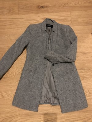 Zara Lange blazer grijs