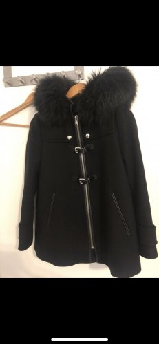 Zara Cappotto corto nero-argento