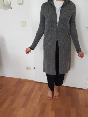 Zara Sukienka płaszczowa szary-ciemnoszary