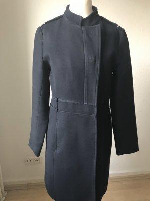 Zara Manteau d'hiver bleu foncé