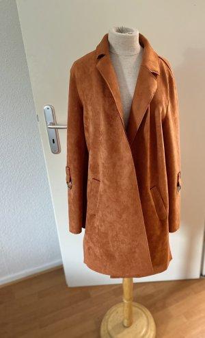 Mantel von Zero in Orange