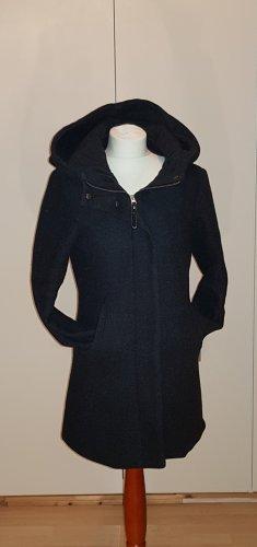 Hailys Robe manteau noir-gris anthracite