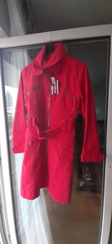 Wissmach Robe manteau rouge brique