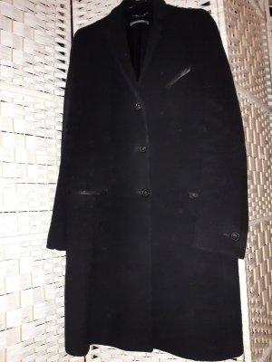 Mantel Wolle von Renè Lezard schwarz