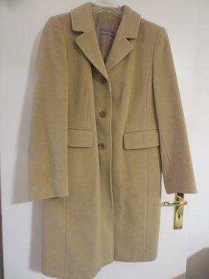 Mantel Wollmantel beige classic