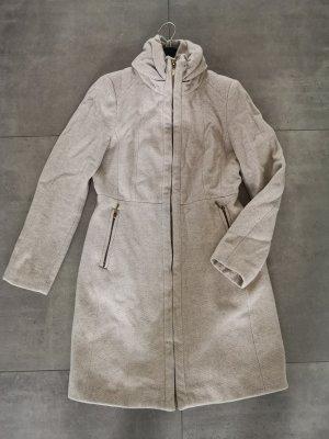 Mantel Wollmantel Zara beige Creme neuwertig XS S