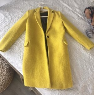 Mango Between-Seasons-Coat yellow