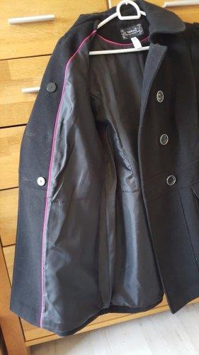 Mantel  Yessica schwarz
