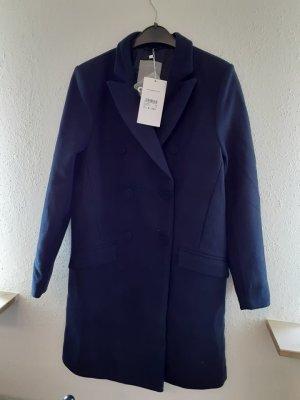 Zabaione Manteau en duvet bleu foncé