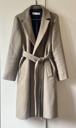 Zara Trench Coat light grey-sage green