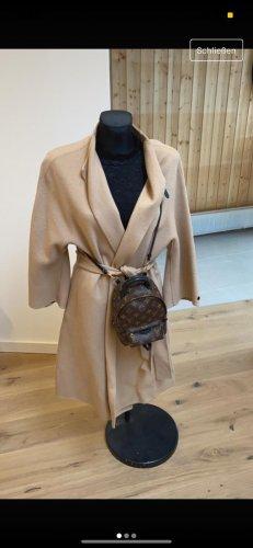 Zara Płaszcz oversize beżowy