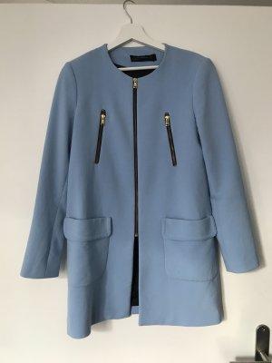 Mantel Zara Hellblau