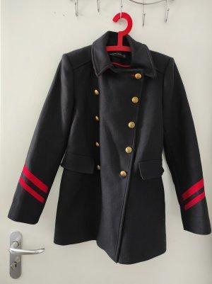 Mantel Zara rot/blau
