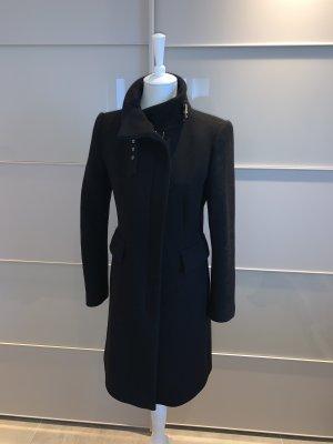 Mantel Zara S/M schwarz warm