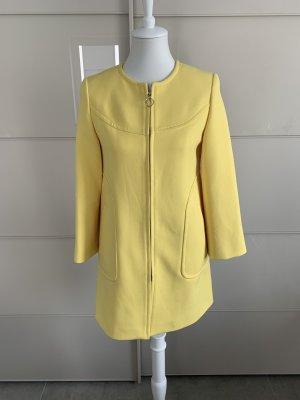 Mantel Zara Xs gelb 60s-Style
