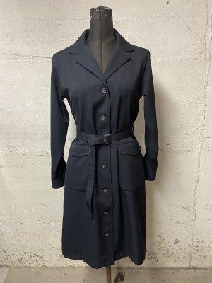 Comptoir des Cotonniers Gabardina tipo vestido azul oscuro