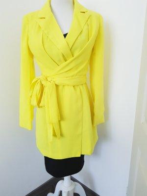 Bohoo Robe manteau jaune