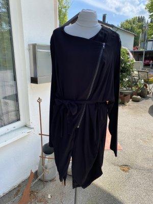 Kaffe Gabardina tipo vestido negro