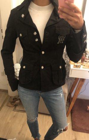 Manuel Luciano Jacke Blazer Stil schwarz Swarovski Gr 34 leichte Jacke Übergangsjacke Sommerjacke