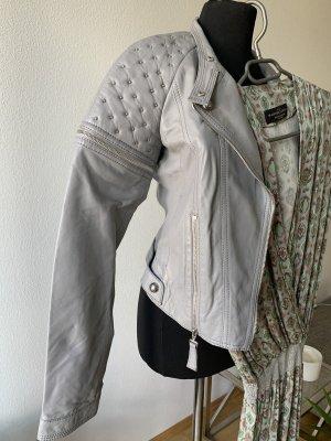 Manuel Luciano Lederjacke - jumpsuit Set