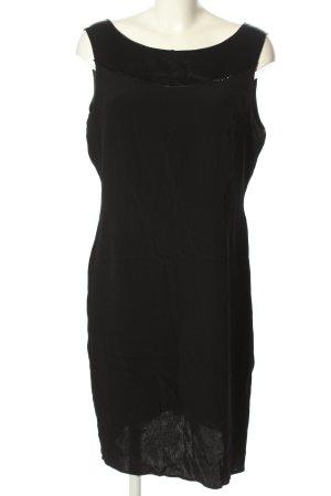 Mara Manzona Abendkleid schwarz Casual-Look