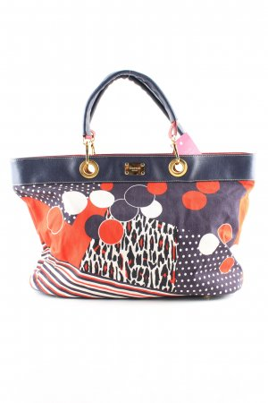 Marani Jeans Bolso barrel estampado de leopardo look casual
