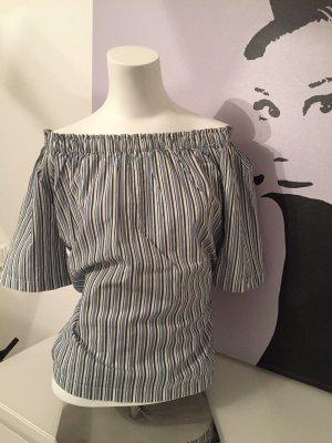 Marc O'Polo Carmen blouse veelkleurig