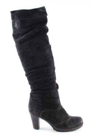 MARC Absatz Stiefel schwarz Elegant