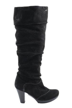 MARC Absatz Stiefel schwarz Casual-Look