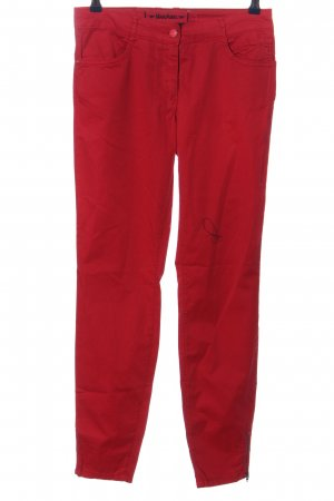 Marc Aurel 7/8 Length Trousers red casual look