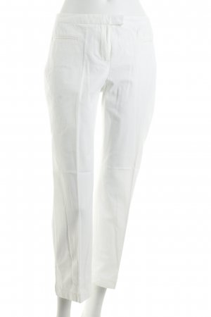 Marc Aurel 7/8 Length Trousers white casual look