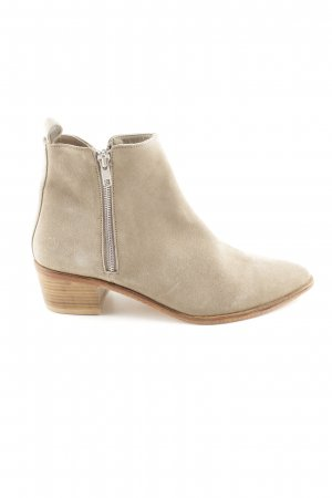 Marc Aurel Ankle Boots creme Business-Look