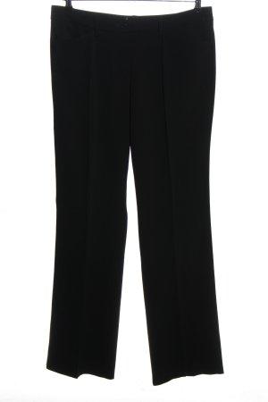 Marc Aurel Spodnie garniturowe czarny W stylu casual