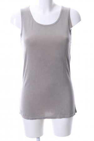 Marc Aurel Basic Top hellgrau Casual-Look