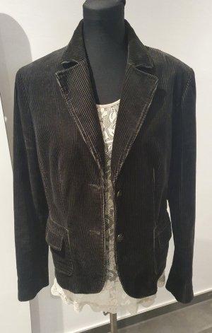 Marc Aurel Tweed blazer bruin