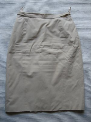 marc aurel bleistiftrock creme, beige gr. xs 34